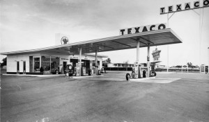 1960's Texaco Station Dallas, Texas b